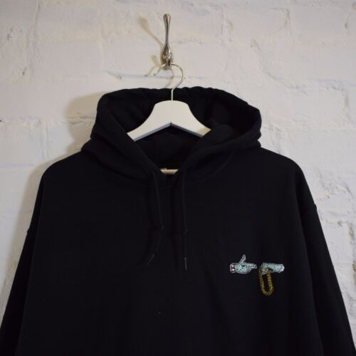 Run The Jewels Killer Mike Hooded Sweatshirt Black Hoodie by Actual Fact
