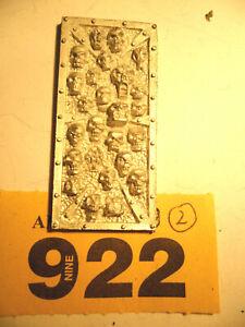 Citadel Arcane Architecture Métal Crâne Panneau Empire Mordheim Sigmar Y922-afficher Le Titre D'origine Complet Dans Les SpéCifications