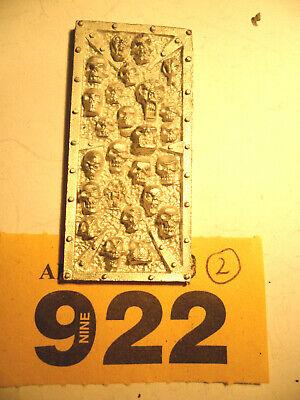Cittadella Arcano Architettura Cranio Di Metallo Pannello Impero Mordheim Sigmar Y922-mostra Il Titolo Originale