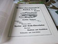 Bremen Archiv 3 Handel 4041 Fabriken in der Neustadt Hachez Chocoladefabrik