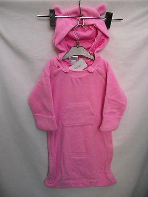BNWT Baby Boys Sz 1 Blue Baby Love Long Sleeve Polar Fleece Sleeping Bag