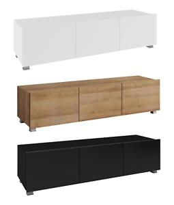 Details Zu Greta Modern Schrank Tv Wohnzimmer 150 Weiß Hochglanz Lowboard Farbauswahl ALq34Rj5