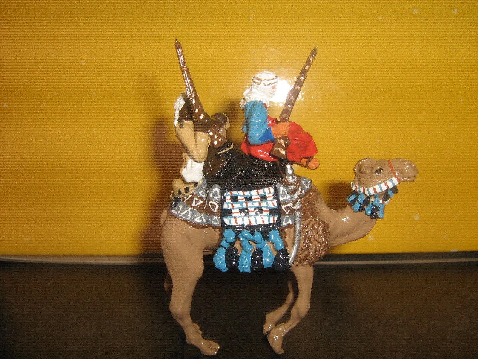 Britain's Ashraf Irregular with Slave on Camel Camel Camel 8c4