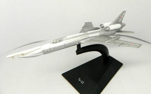 1:287 Tupolev Tu-22 Soviet airplane Die Cast model DeAgostini 62