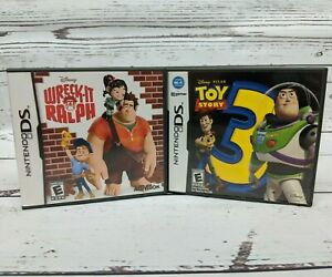 Wreck-It Ralph and Toy Story 3 Nintendo DS Games Disney W ... Wreck It Ralph Trailer Toy Story