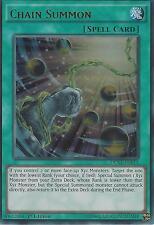 YU-GI-OH CARD: CHAIN SUMMON - ULTRA RARE - DUSA-EN011 - 1ST EDITION