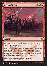 Arrow Storm     EX/NM  x4  Khans of Tarkir MTG Magic Red  Common