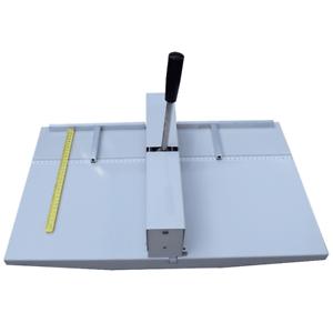 """Manual 18"""" 460MM Paper Scoring Creasing Machine Scorer Creaser"""