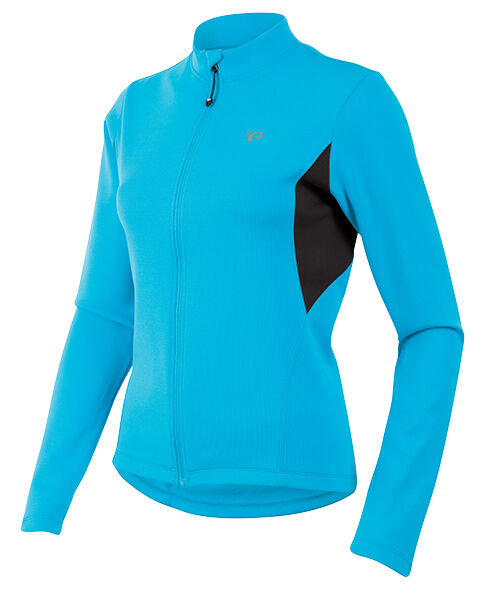 Pearl Izumi 2016 Women's Sugar Thermal Bicycle Cycling Jersey bluee Atoll Medium