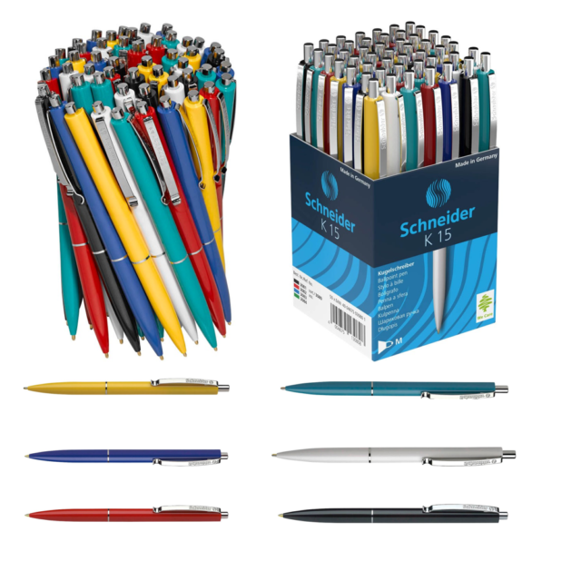 10 Stück Kugelschreiber GRÜN Büro Schreibtisch Seminar Haushalt Schule Set 1682