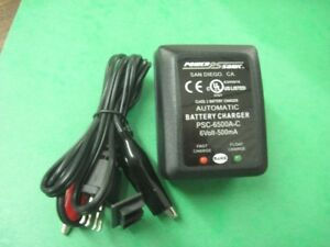 POWER-SONIC-CHARGER-PSC-6500A-C-6-VOLT-500-Mah-INPUT-VOLTAGE-110-240AC-50-60Hz