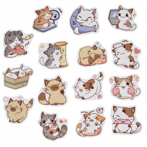 45Pcs//Lot Cute Cat Stickers DIY Japanese Kawaii Sticker sheet Crafts Stickers