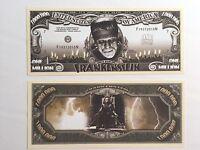 50 X Million Dollar Bill Frankenstein Fun Play Money Gift Novelty Gag Halloween