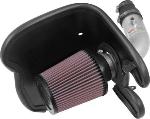 K/&N Turbo Silver Typhoon Short Ram Intake for 17-18 Chevy Cruze 1.4L #69-4537TS