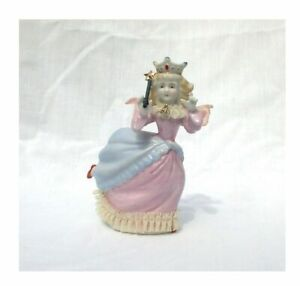 Vintage-Ardalt-Dancing-Queen-Angel-Figurine-Wand-Lace-Lenwile-China-6791