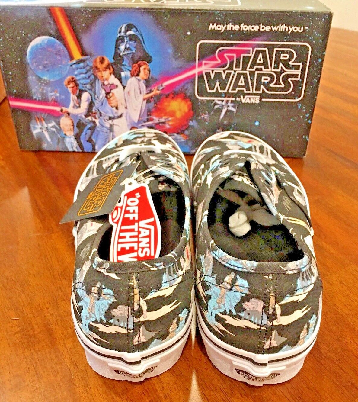 Vans Star Wars Authentic  Darkside/Pinthth  Authentic 170 cf1222