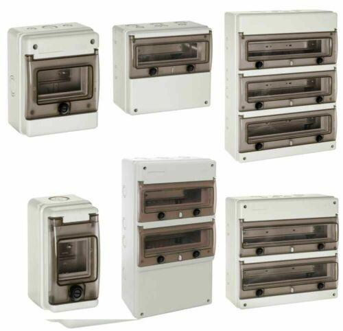 Wiska Indubox Insulated Distribution Enclosures 4 to 8 Modules IP65