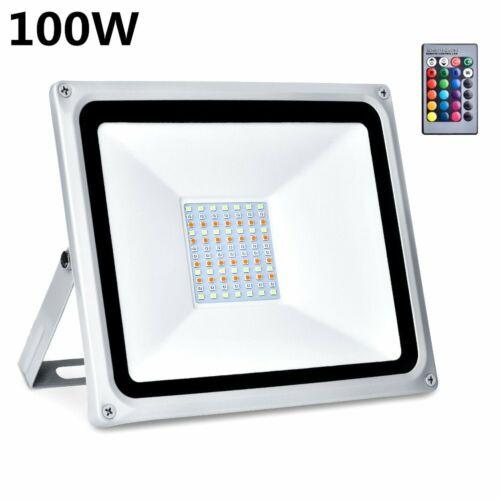 LED Fluter 10-1000Watt 220V Floodlight IP65 Außenleuchte Garten Fassadenstrahler
