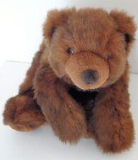 ORSO GRIZZLY BEAR OURS der Bär OSO PELUCHE Plüsch PLUSH marca RUSS L 42 cm