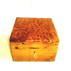Morocco-new-Box-thuya-wooden-Jewellery-box-with-lock-and-key-handmade-6x6x3-3