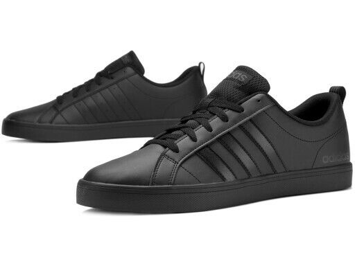 Adidas NEO Pace VS Mens Black Trainers B44869 UK 7.5