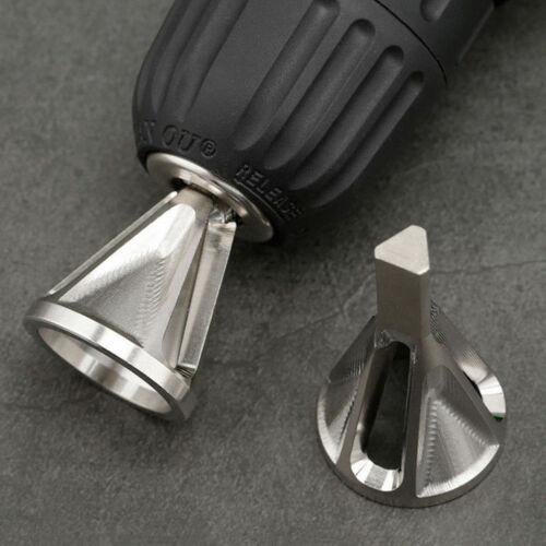 1xBit Deburring Tool Durable Remove Burr Cutting Drill Bit External Chamfer Kit