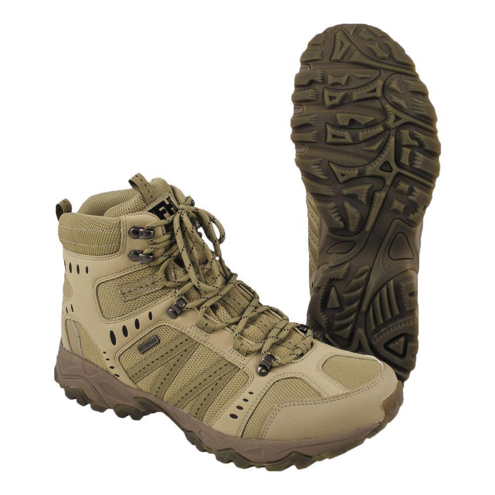 MFH Einsatzstiefel Tactical Wanderstiefel Stiefel Stiefel Stiefel Herren coyote wasserdicht e72234