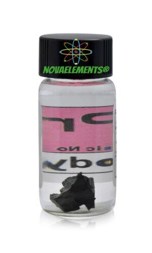 Pr Praseodymium metal element 59 sample 1 gram piece 99,9/% in labeled glass vial