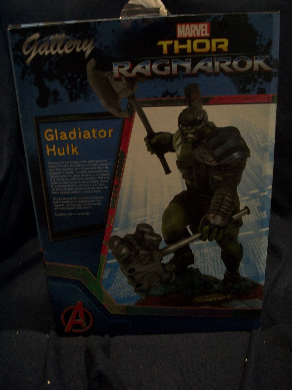 GLADIATOR HULK - Thor Ragnarok PVC Diorama - Marvel Gallery - Diamond Select