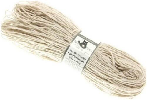 Alpaka Queen Beige Meliert Schoppel Wolle