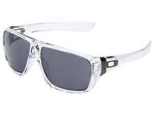 Oakley-Dispatch-Sunglasses-OO9090-20-Polished-Clear-Grey