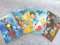 KINGDOM HEARTS Manga Comic Complete Set 1-4 Shiro Amano Book EB*