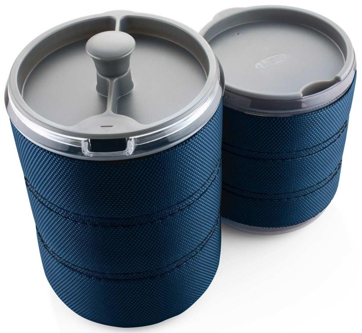 GSI Personal Javapress 30 fl oz Coffee Maker with Insulated Insulated Insulated Mug Included 4d1553