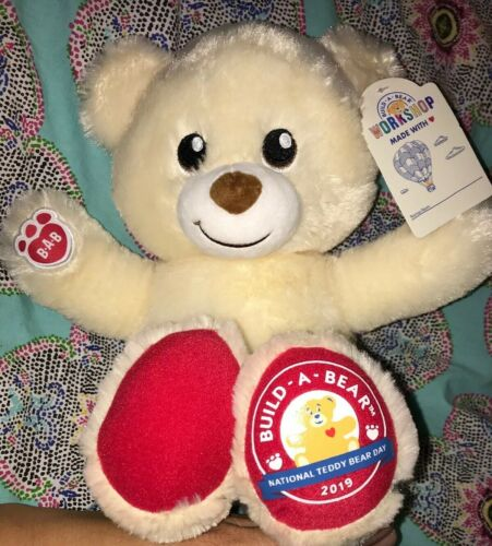 Build A Bear Limited Edition National Teddy Bear Day 2019 Plush Stuffed Animal