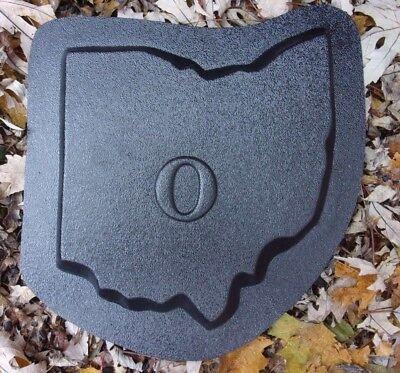"""Dog paw  plastic mold concrete plaster garden mould  9.5/"""" x 9.5/"""" x .75/"""""""