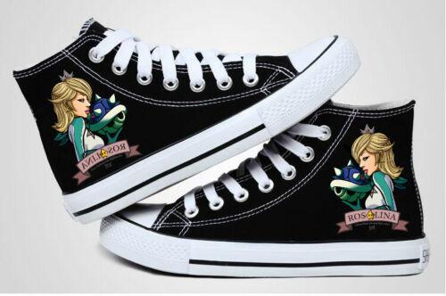 Rosalina Mario Kart Cosplay canvas shoes shoes High canvas