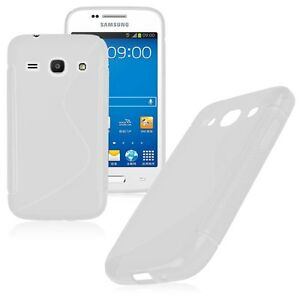 HOUSSE-ETUI-COQUE-SILICONE-GEL-BLANC-SAMSUNG-GALAXY-CORE-PLUS