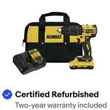 DeWalt DCD778L1R 20V MAX Compact 1/2 in. Hammer Drill Driver (3 Ah) Recon