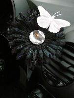 Vw Beetle Flower - White And Black Diamond Daisy