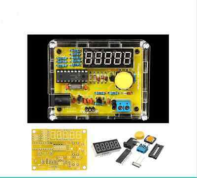 Geekcreit DIY Frequency Tester 1Hz-50MHz Crystal Counter Meter With Housing Kit