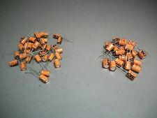 Mixed Lot of 100 Vishay Sprague Capacitor 15uF 63V / 47uF 16V - Craft Jewelry