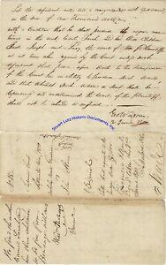 George-Walton-signed-legal-document-re-slavery-1800-Georgia-Declaration-Signer