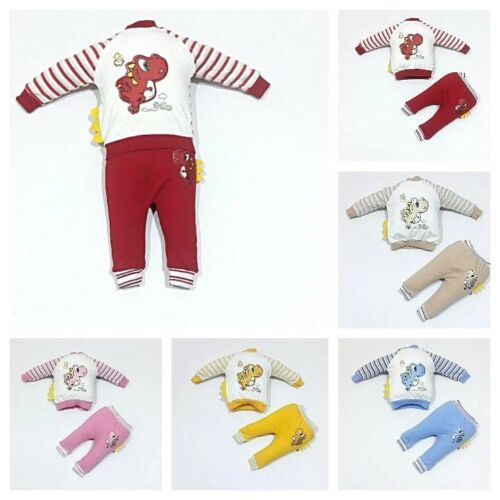 ♥ NEUF ♥ layette2 Pièces strampelhoseTaille 62; 68; 74 coiffe