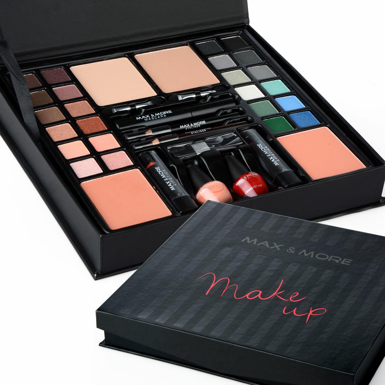 Make-Up Box Makeup Kit Set 39 Pieces Gift Vanity Case