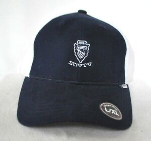 1de2ffa19e0 Details about  SCIOTO COUNTRY CLUB OHIO JUNIOR CHAMPIONSHIPS  FITTED GOLF HAT  CAP  IMPERIAL