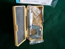 """Scherical Anvil//Spindle Micrometer,0-/"""" MITUTOYO 115-253"""