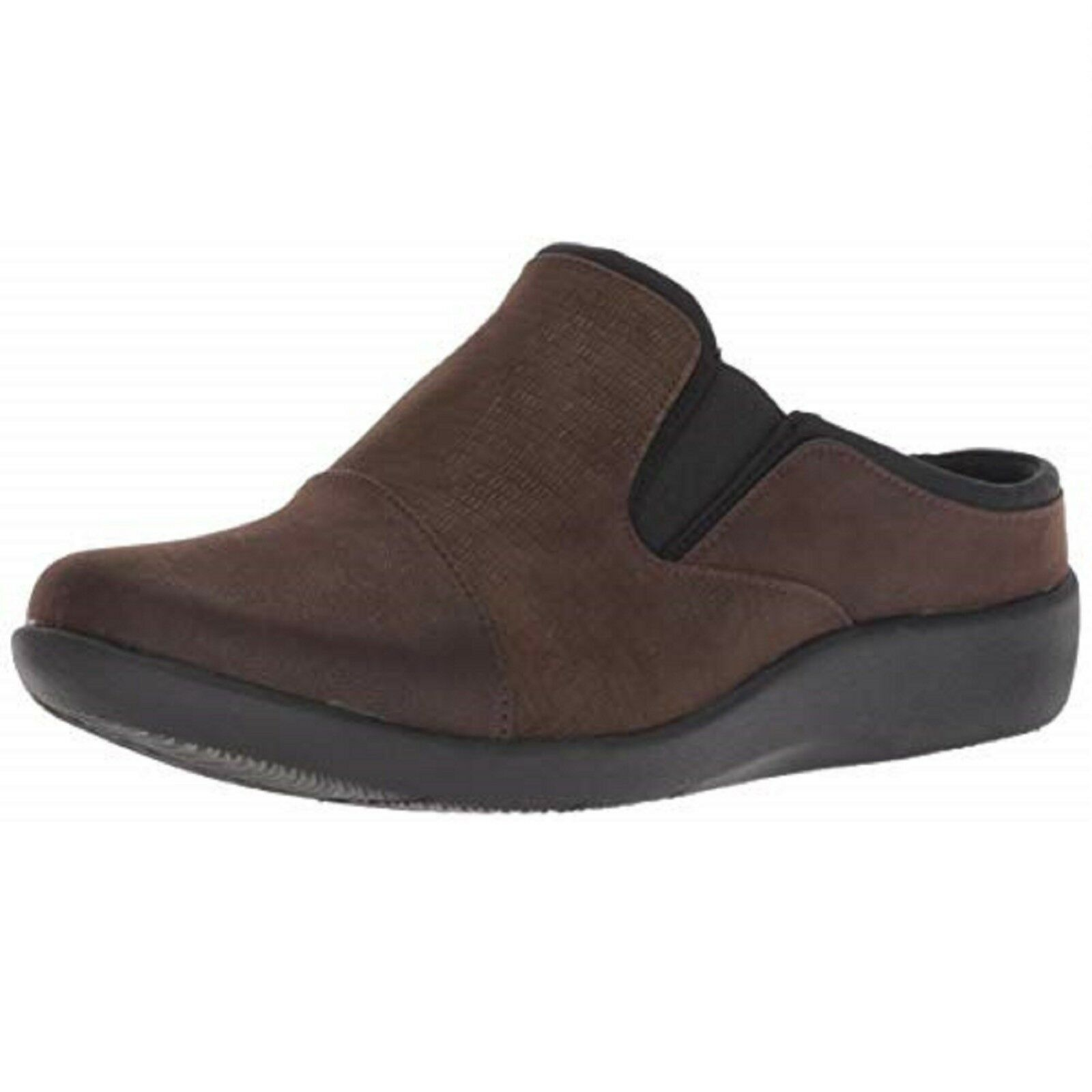 Women's Clarks SILLIAN FREE 26138020 Dark Brown SHOES