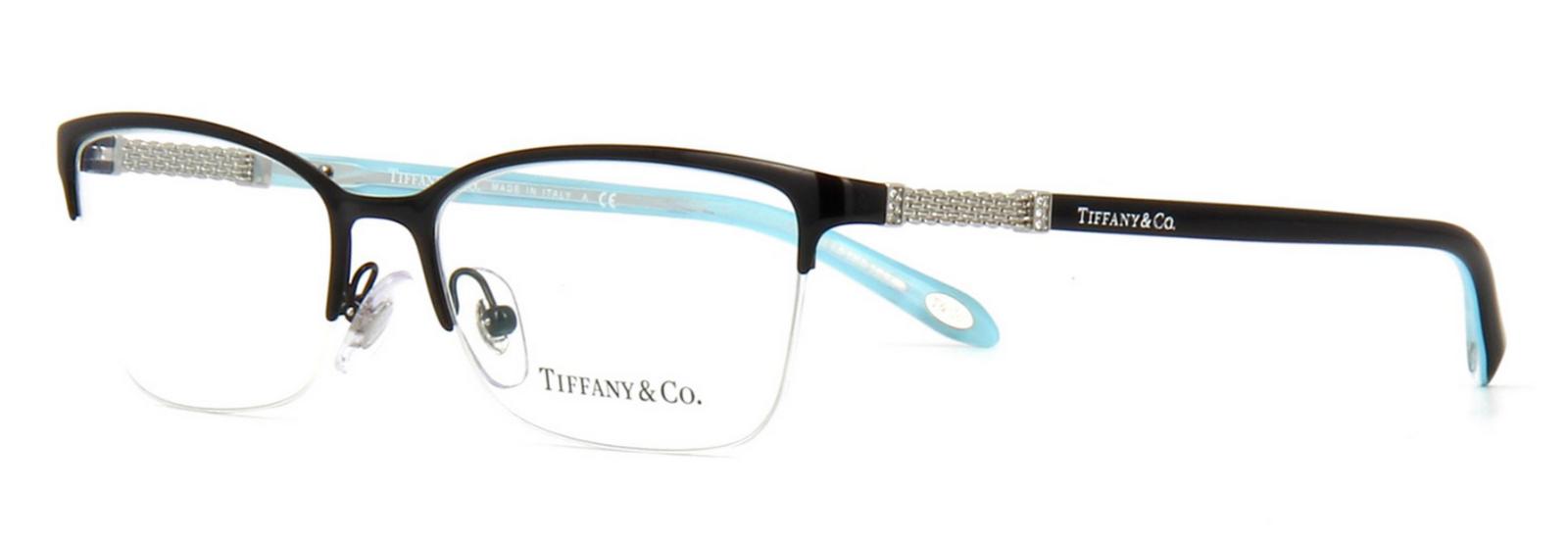 8eb35bdb80a Authentic Tiffany   Co. Black RX Eyeglasses TF 1111b - 6097 53mm for ...