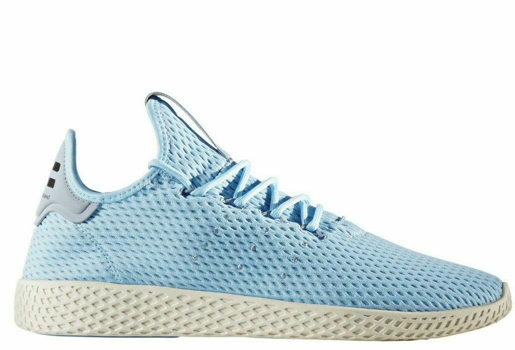 Mens Adidas Originals Pharrell Williams PW Tennis HU Icey bluee CP9764 Size 8.5