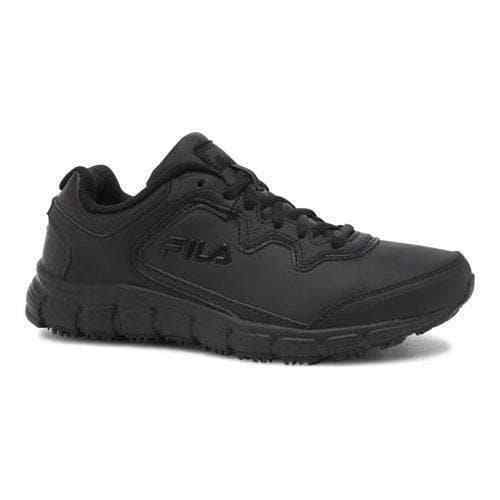 NEW WOMEN FILA  MEMORY FRESH START BLACK Schuhe SLIP RESISTANT ORIG 5SK26008-001